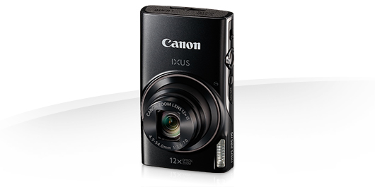 "Canon IXUS 285 HS BLACK - 20MP,12x zoom,25-300mm,3,0"",GPS,Wi-Fi"