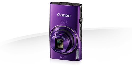 "Canon IXUS 285 HS PURPLE - 20MP,12x zoom,25-300mm,3,0"",GPS,Wi-Fi"