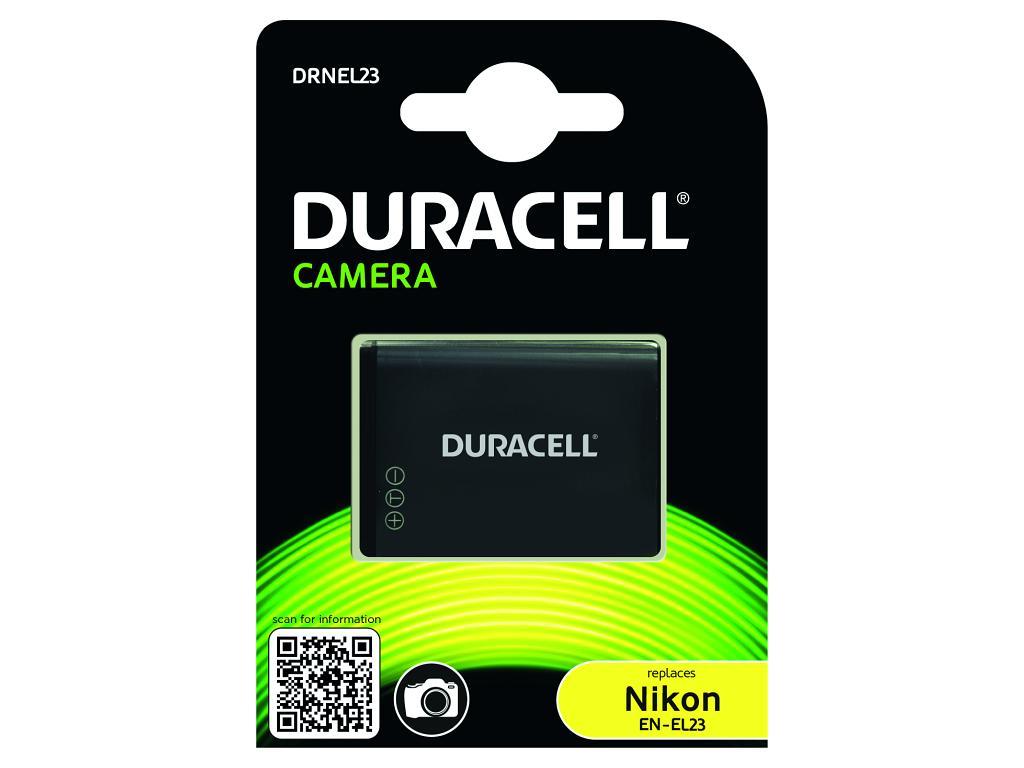 DURACELL Baterie - Baterie do fotoaparátu nahrazuje Nikon EN-EL23 3,7V 1700mAh