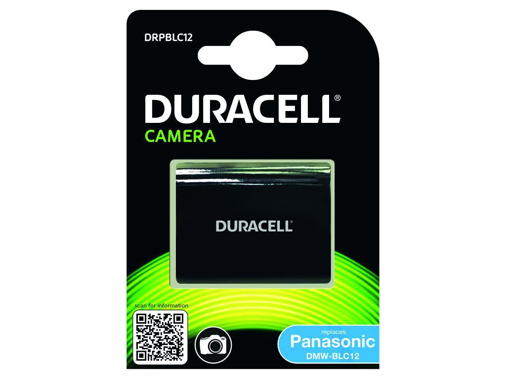 DURACELL Baterie - Baterie do fotoaparátu nahrazuje Panasonic DMW-BLC12 7,4V 950mAh