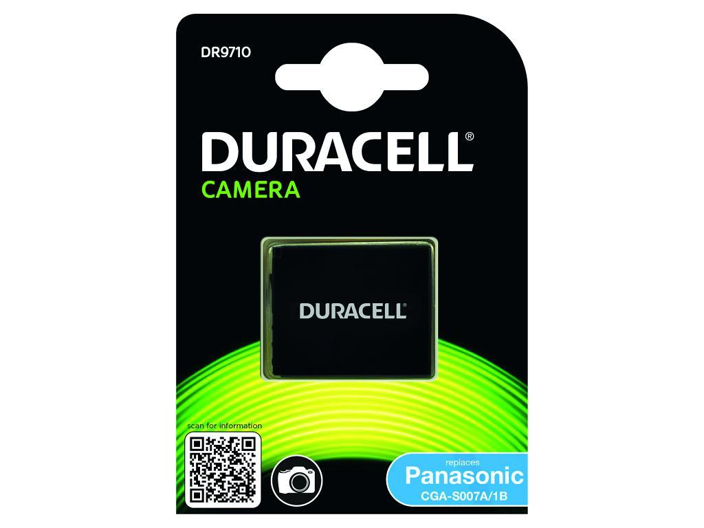 DURACELL Baterie - DR9710 pro Panasonic CGA-S007A/1B 3,7V 950mAh