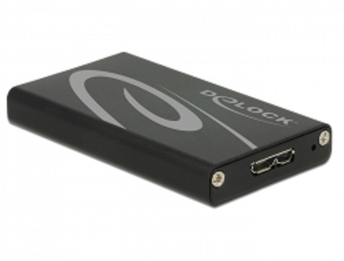 Delock External Enclosure mSATA SSD > USB 3.0