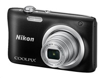 NIKON COOLPIX A100 - 20,1 MP, 5x zoom - Black