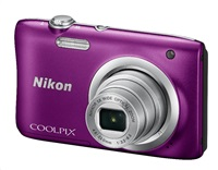 Nikon Coolpix A100 fialový, 20,1M, 5xOZ, HD Video