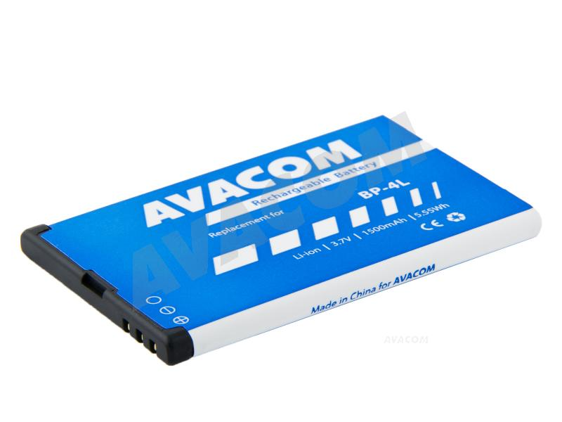 Náhradní baterie AVACOM Baterie do mobilu Nokia E51, N81, N81 8GB, N82, Li-Ion 3,6V 1100mAh (náhrada BP-6MT)