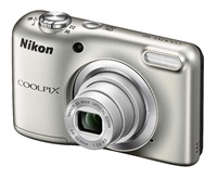 Nikon Coolpix A10 stříbrný, 16,1M, 5xOZ, HD Video