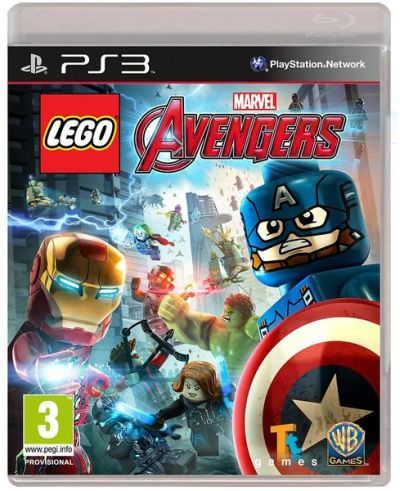 Warner Bros. PS3 hra LEGO Marvel's Avengers