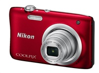NIKON COOLPIX A100 - 20,1 MP, 5x zoom - Red