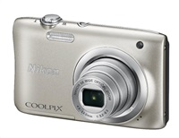 NIKON COOLPIX A100 - 20,1 MP, 5x zoom - Silver