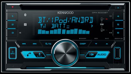 Kenwood DPX 5000BT blue