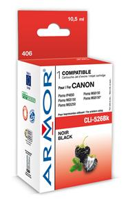 ARMOR cartridge pro CANON iP 4850 Black s čipem (CLI526Bk) 10,5ml