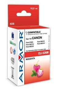 Armor ink-jet pro Canon CLi-526, 10,5ml, magenta