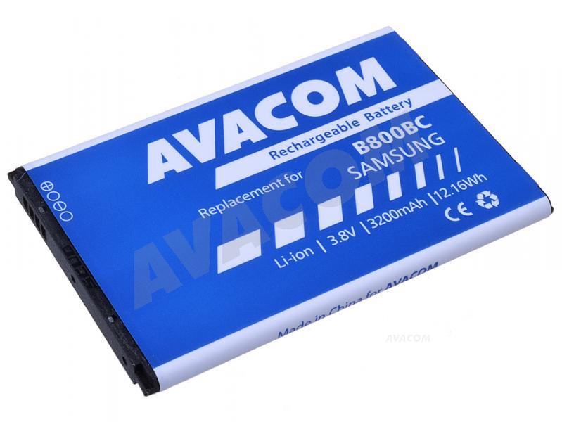 Náhradní baterie AVACOM Baterie do Samsung N9005 Galaxy NOTE 3, Li-Ion 3,7V 3200mAh (náhrada za B800BE)
