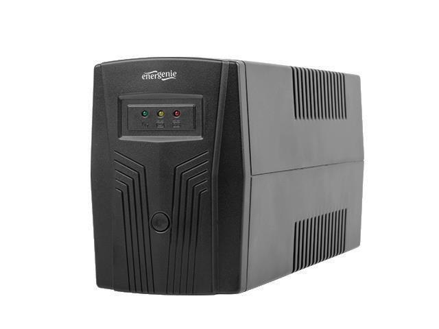 UPS Energenie by Gembird 850 VA ''Basic 850'' UPS,AVR,Shuko output sockets,black