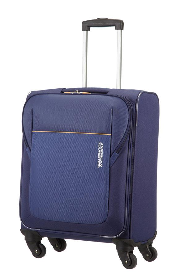 Cabin spinner AT SAMSONITE 84A01002 SanFrancisco spinner S 55 luggage, d.blue