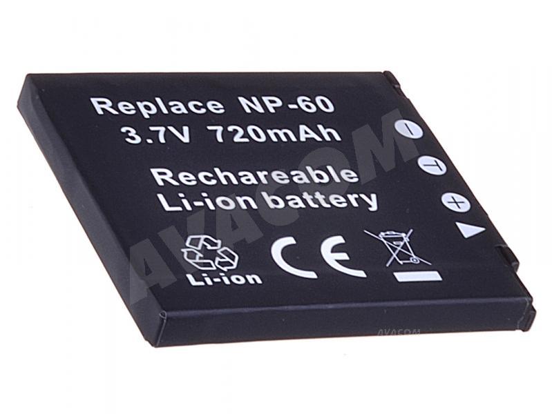 Náhradní baterie AVACOM Casio NP-60 Li-Ion 3.7V 560mAh 2.1Wh