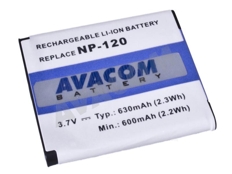 AVACOM Casio NP-120 Li-Ion 3.6V 630mAh 2.3Wh