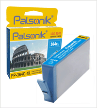 Palsonik 364XL C(XL) HP HP kompatibilní cartridge CB323EE modrá