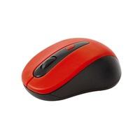 OMEGA myš OM-416, bezdrátová 2,4GHz, 1600 dpi, nano USB přijímač, červená