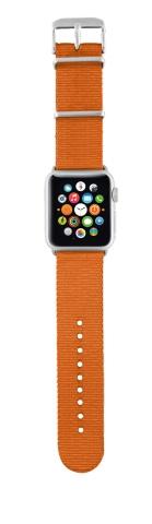 TRUST Nylonový náramek pro hodinky Apple Watch 42 mm, orange