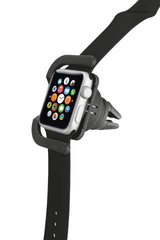 TRUST Držák do ventilačních výdechů v autě k nabíjení hodinek Apple Watch 42 mm