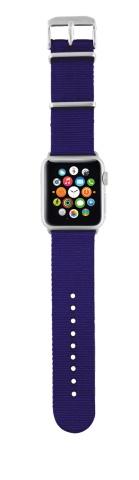 TRUST Nylonový náramek pro hodinky Apple Watch 42 mm, blue