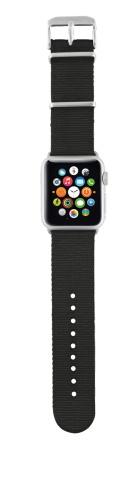 TRUST Nylonový náramek pro hodinky Apple Watch 38 mm, black