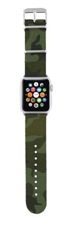 TRUST Nylonový náramek pro hodinky Apple Watch 38 mm, camouf