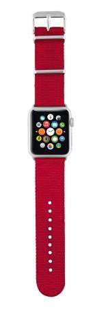 TRUST Nylonový náramek pro hodinky Apple Watch 42 mm, red