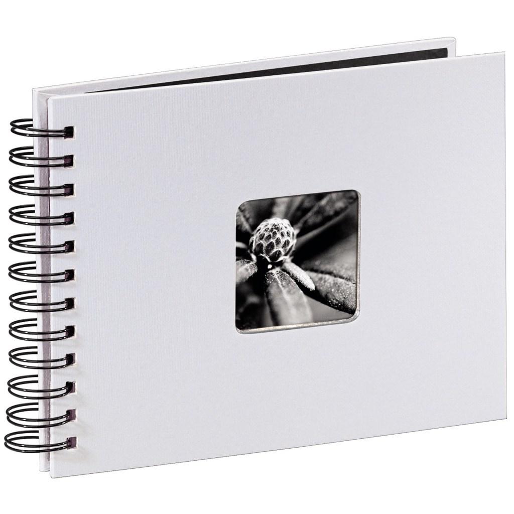 Hama album klasické spirálové FINE ART 24x17 cm, 50 stran, křídová