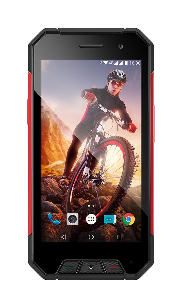 EVOLVEO StrongPhone Q7 LTE, Dual Sim, vodotěsný odolný Android Quad Core smartphone