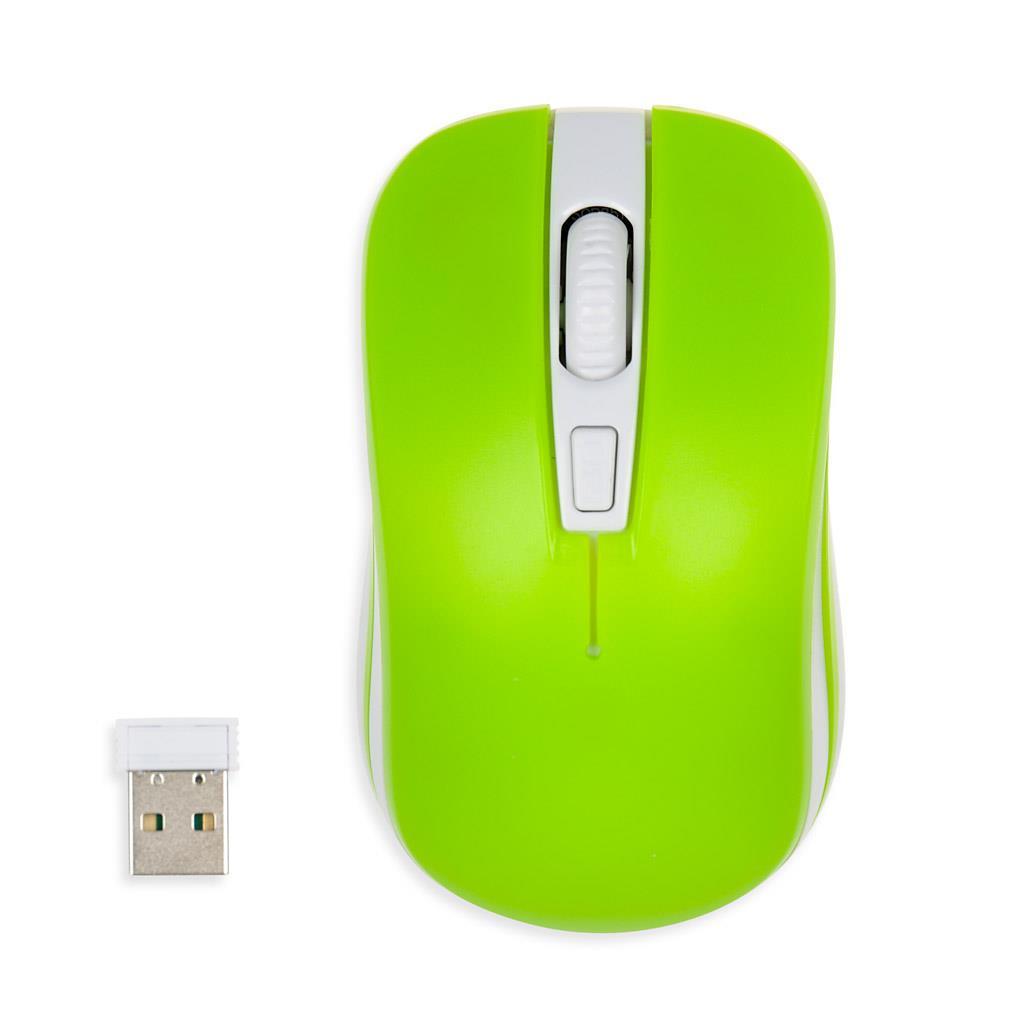 I-BOX LORIINI PRO bezdrátová optická myš GREEN