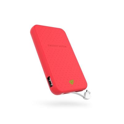 ENERGY Extra Battery 5000 Coral, přenosný velmi kompaktní akumulátor pro Vaše mobilní zařízení
