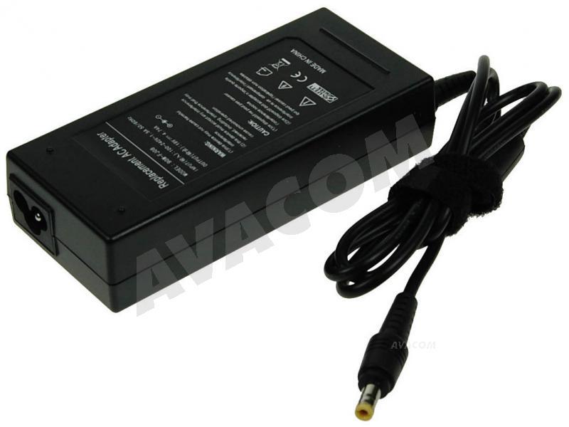 AVACOM Nabíjecí adaptér pro notebook 100-240V/19V 4,74A 90W rovný konektor 5,5x2,5mm