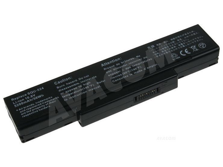 Náhradní baterie AVACOM LG F1 Series Li-Ion 11,1V 5200mAh/58Wh