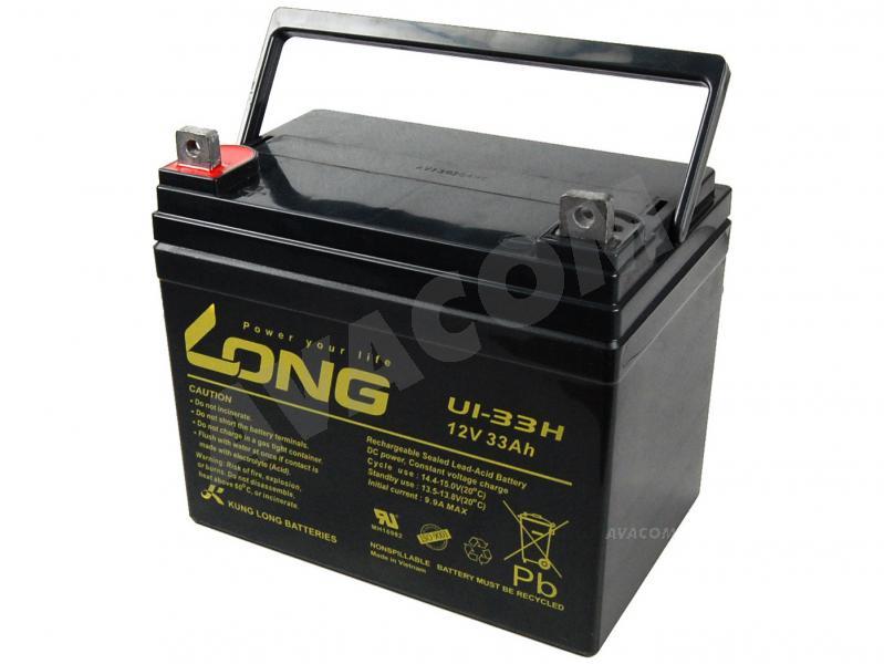 Long 12V 33Ah olověný akumulátor F4