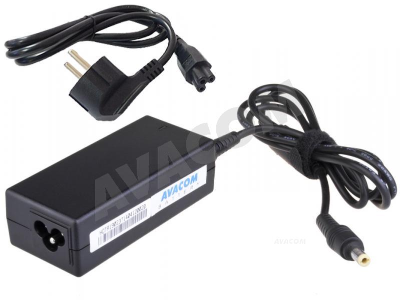 Nabíjecí adaptér AVACOM ADAC-19V-45Wa pro notebook 100-240V/19V 2,37A 45W konektor 5,5x2,5mm