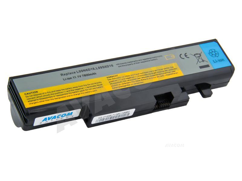 Náhradní baterie AVACOM Lenovo IdeaPad Y460/Y560 Li-Ion 11,1V 7800mAh