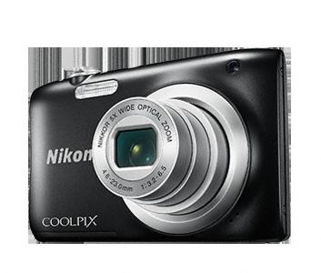Nikon Coolpix A100 černý, 20,1M, 5xOZ, HD Video