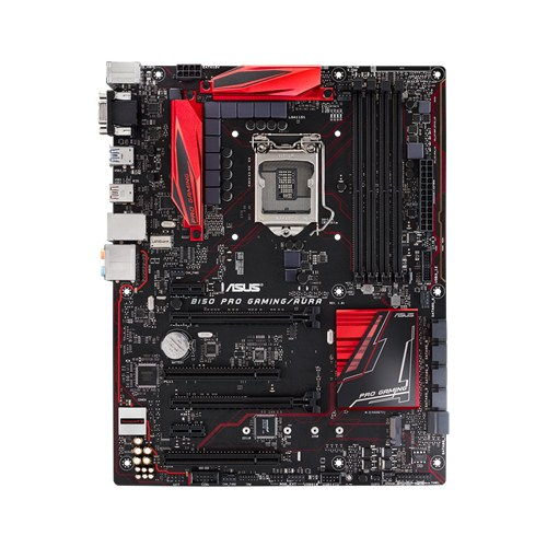 ASUS B150 PRO GAMING/AURA, 1151, B150, 4xDDR4, PCIe 3.0x16, SATAIII, USB3.1, M.2, HDMI, ATX