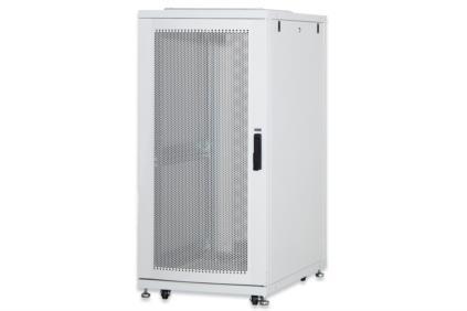 DIGITUS 36U server cabinet, 1705x600x1000 mm, color grey RAL 7035 perforated door