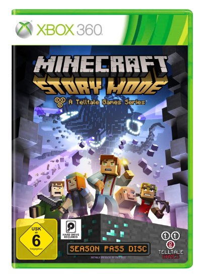 Telltale Games XBox 360 hra Minecraft: Story Mode