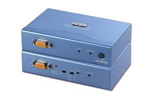 ATEN KVM extender CE-252 PS/2 , max. 300 metrů