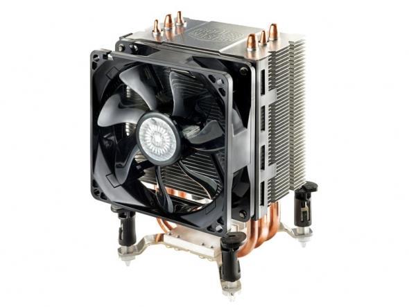 COOLERMASTER chladič Hyper TX3i, sct. 1366/1151/1150/1155/1156/775 s.silent