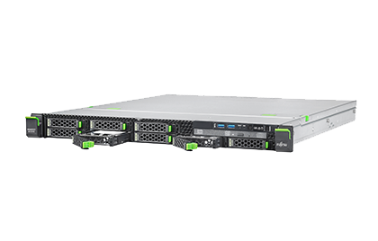 Fujitsu PRIMERGY RX1330M2, LFF, E3-1220v5 4C/4T 3,0GHz/8GB DDR4/2x 1TB SATA HDD/DRW/450W/2xGL/RAID 0,1,10