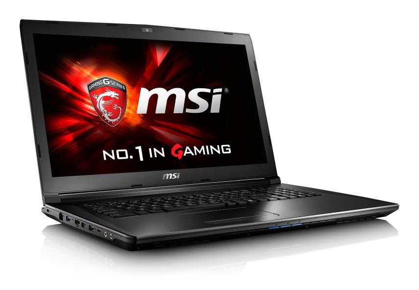 """MSI NB GL72 6QD-037CZ,17.3"""" FHD AG eDP,i7-6700HQ,8GB,GTX 950M 2GB DDR3,1TB 7200,DVDRW,WF+BT4.0, Win10"""