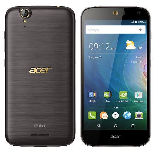 "ACER LIQUID Z630S LTE 5,5"" IPS 1280x720, 1,3GHz Octa-Core, Android 5.1 ROM 32GB, RAM 3GB, kamera 8Mpx/8Mpx, black&gold"