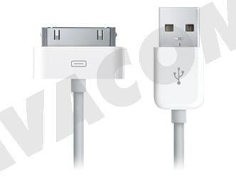 Originální datový kabel Apple MA591G pro iPhone 3G, 4, 4S - bulk