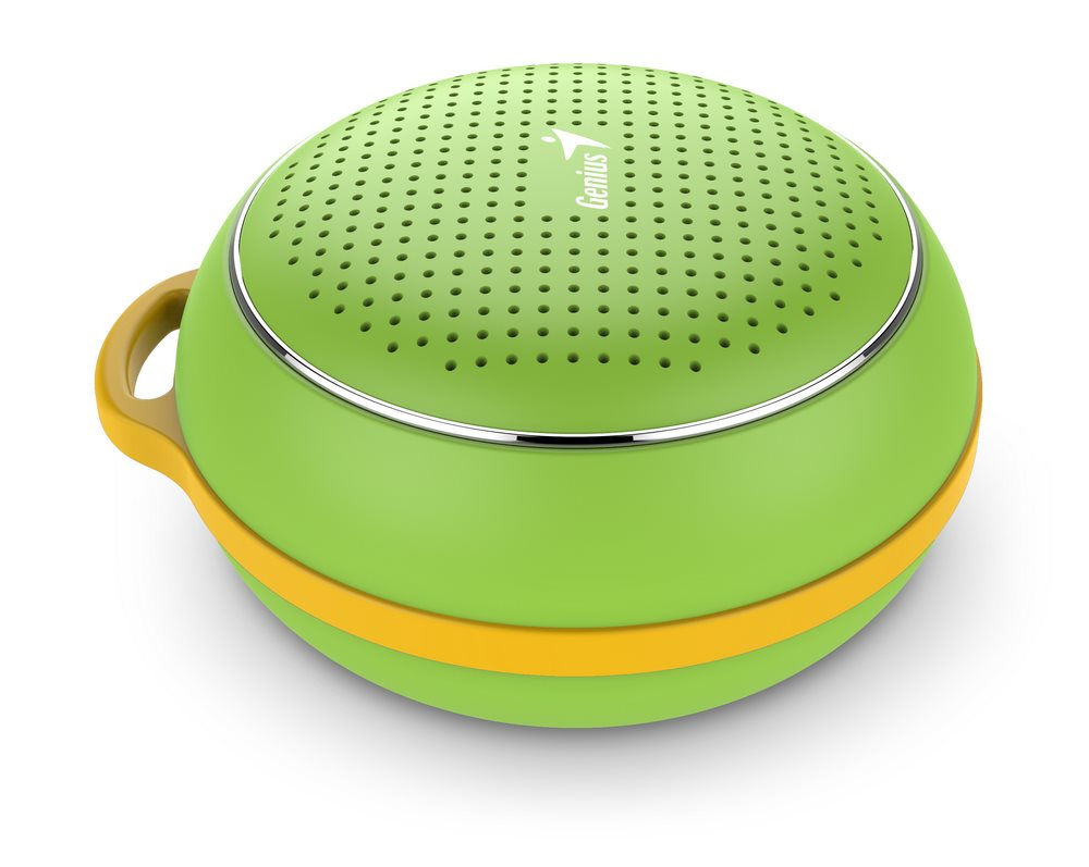 GENIUS repro SP-906BT/ 3W/ Bluetooth 4.1/ dobíjecí/ zelený