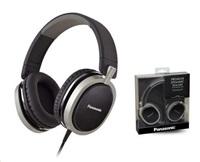 Panasonic stereo sluchátka RP-HX550E-K, 3,5 mm jack, černá